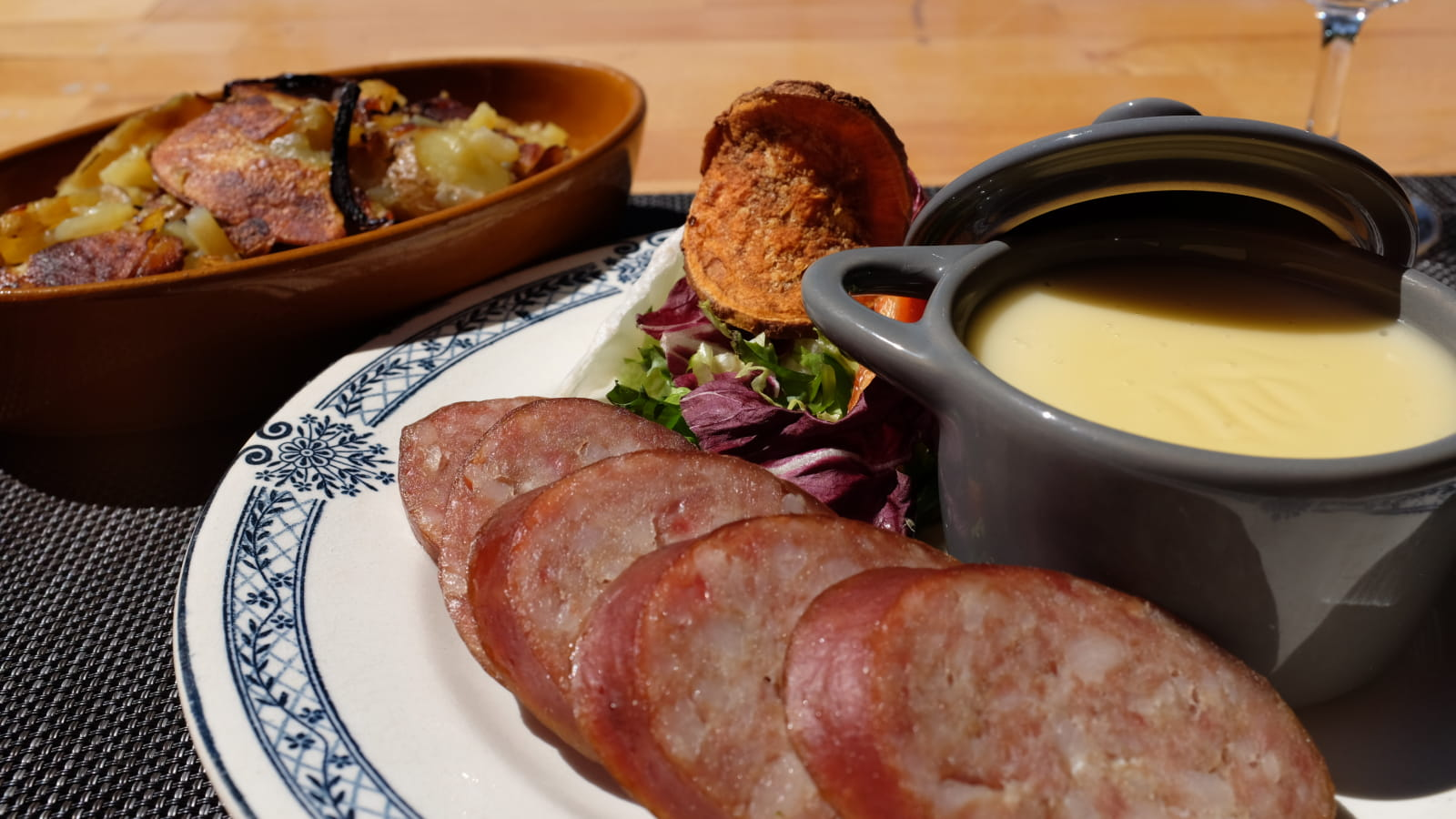 Musée des Maisons Comtoises :repas franc-comtois