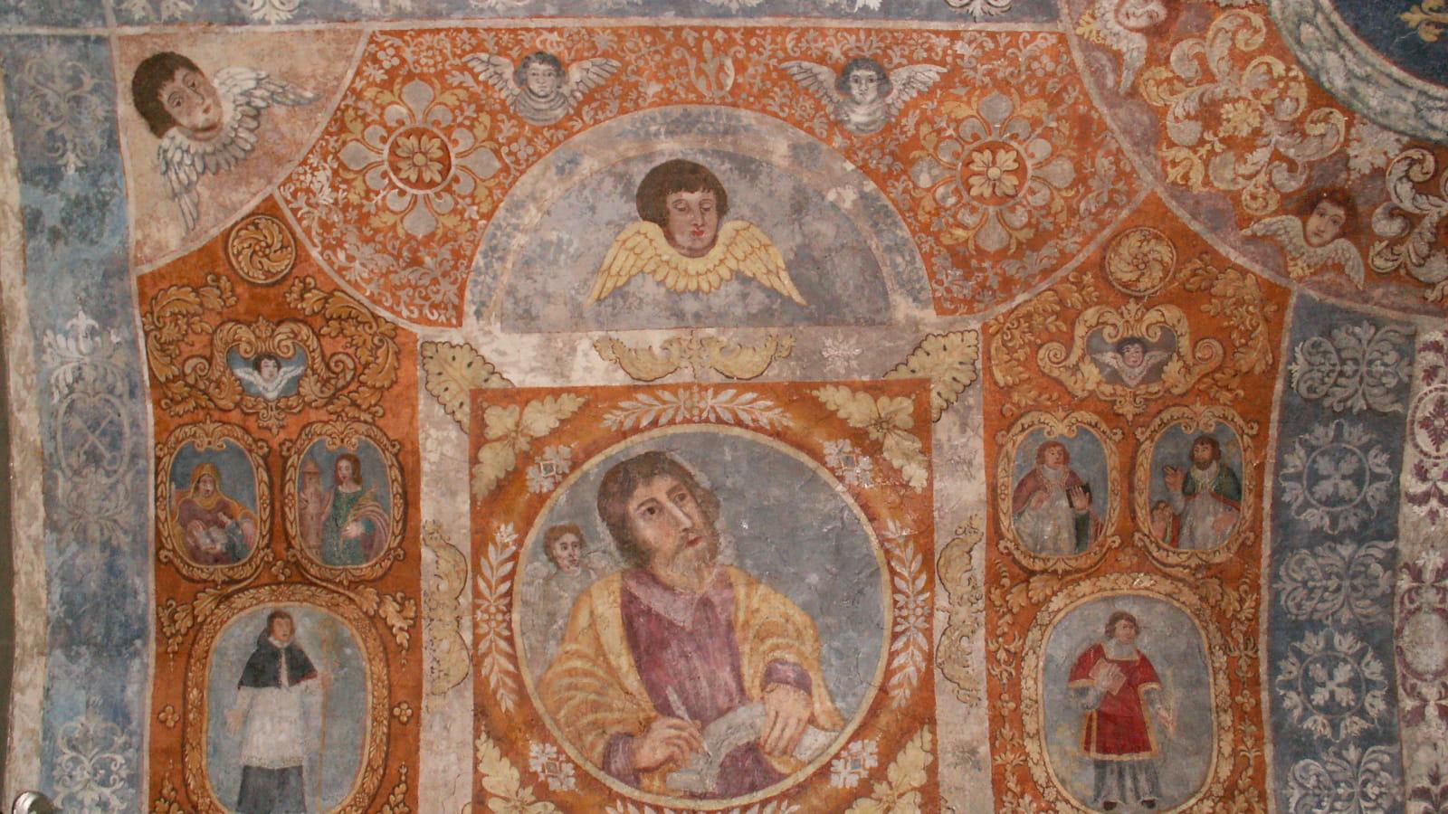 Peinture murale Ronchères