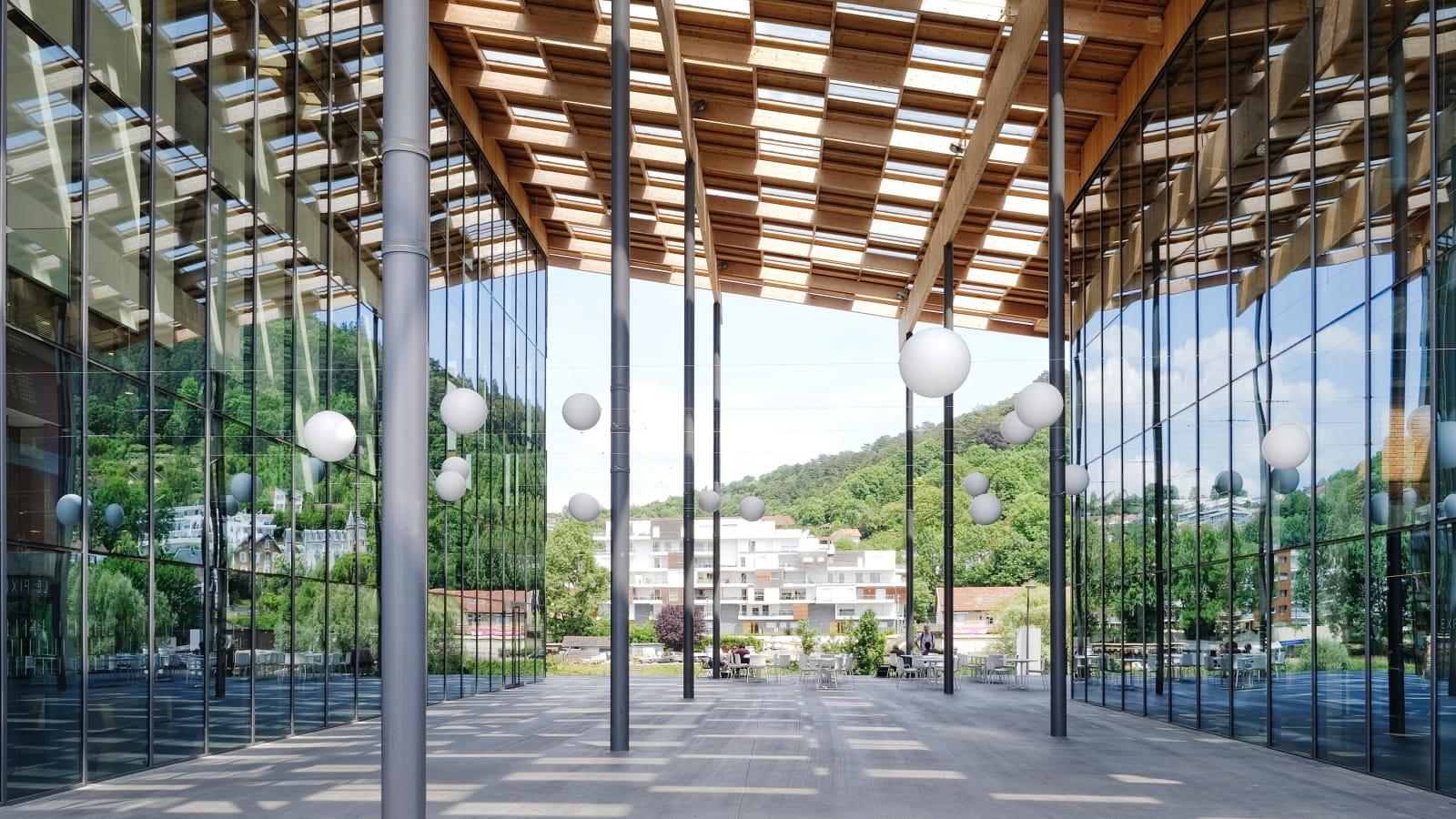 Architecture du FRAC de Besançon