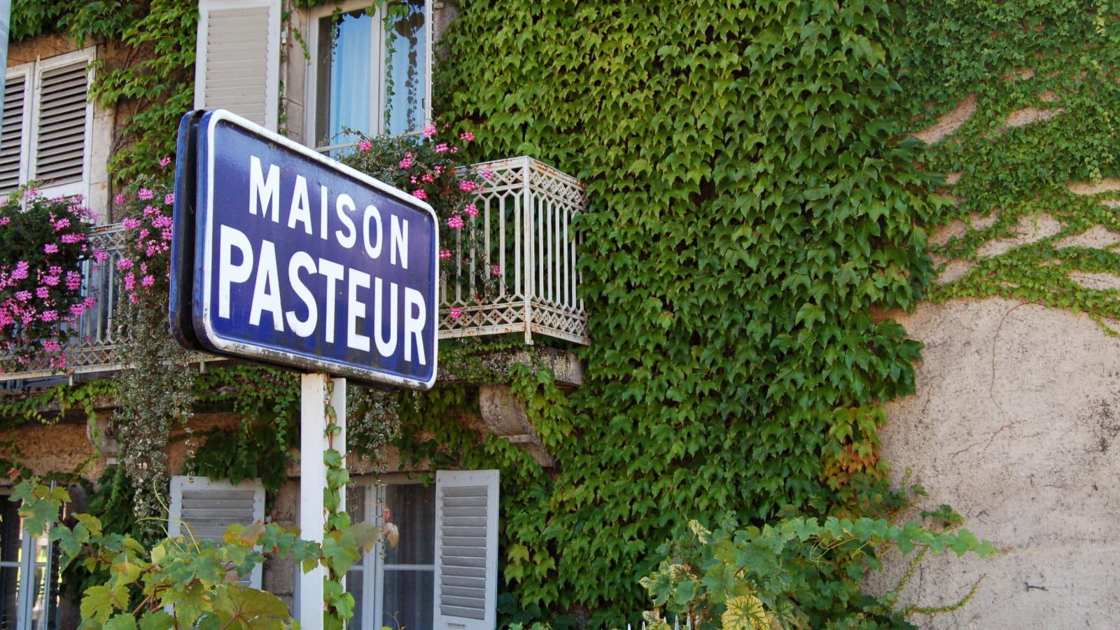 Maison de Louis Pasteur à Arbois
