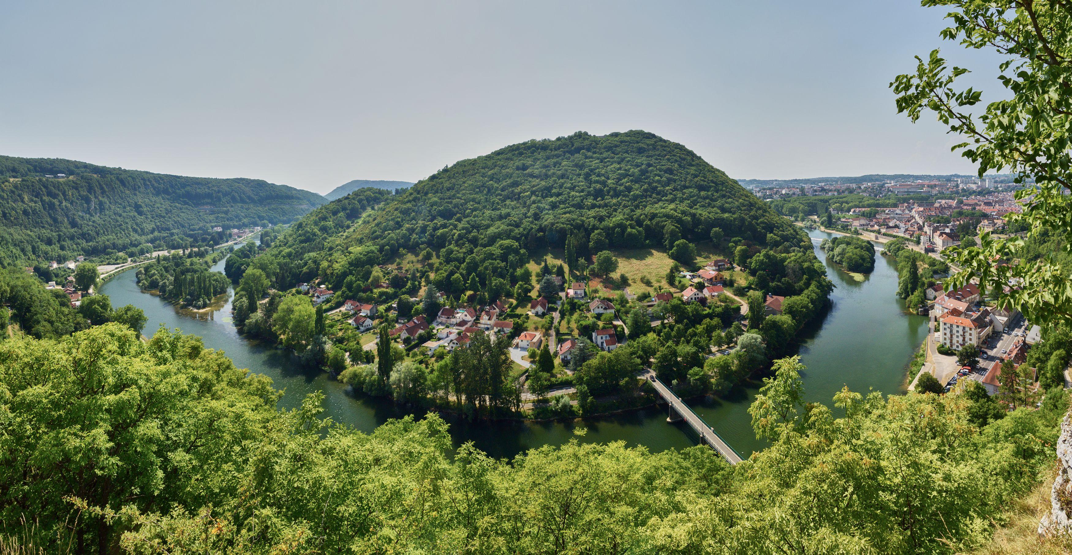 Boucle du Doubs à l'aval de Besançon