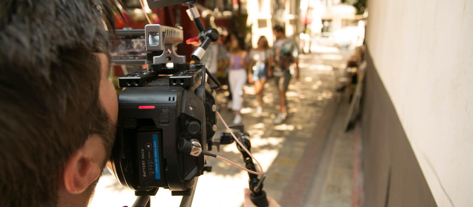 Tournage de film