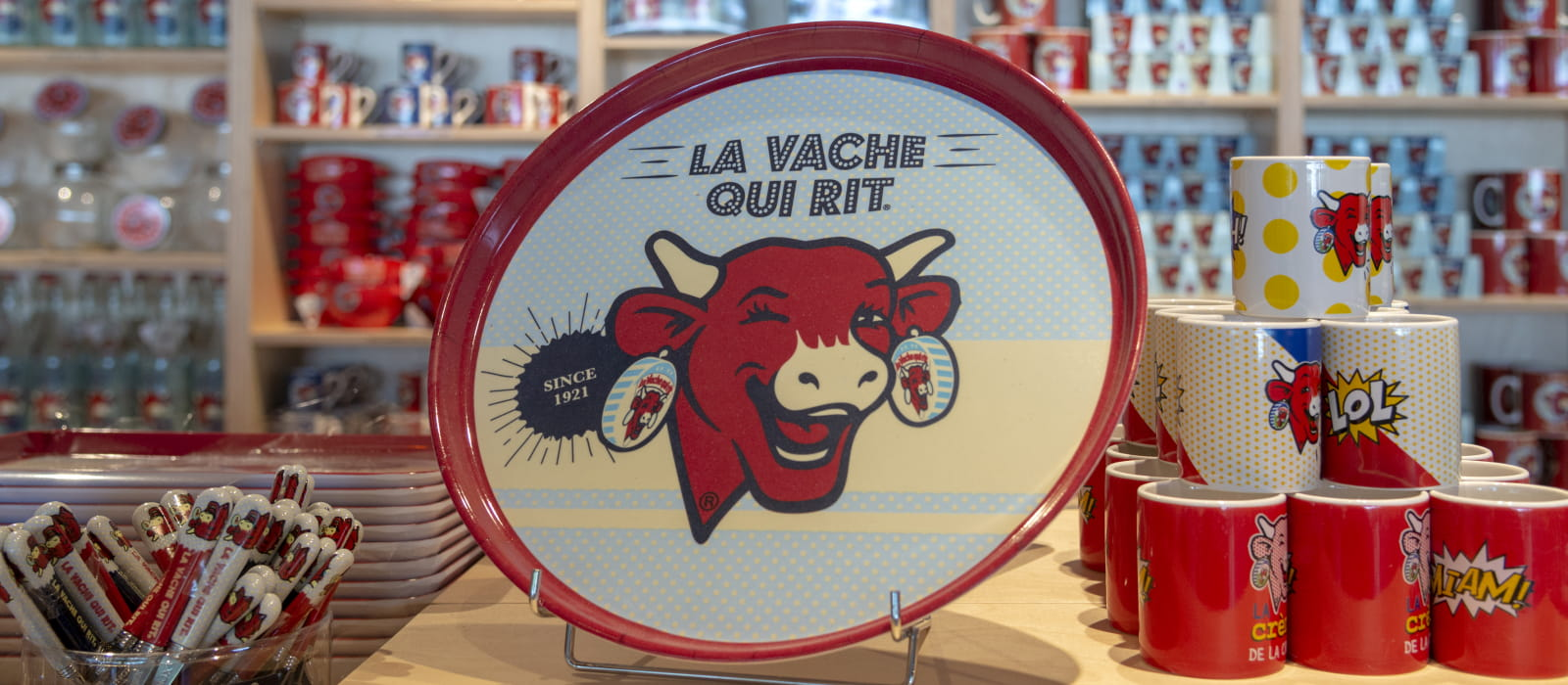Maison de la Vache qui Rit : la boutique