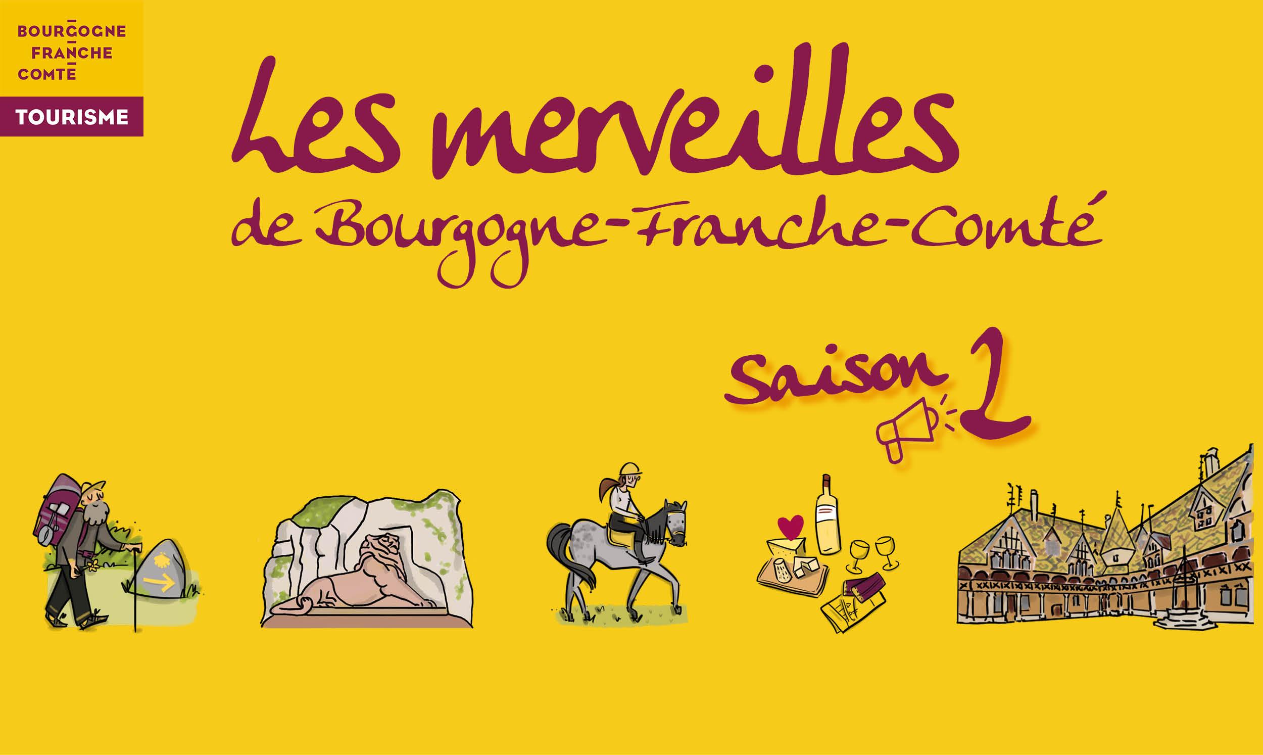 Les merveilles de Bourgogne-Franche-Comté
