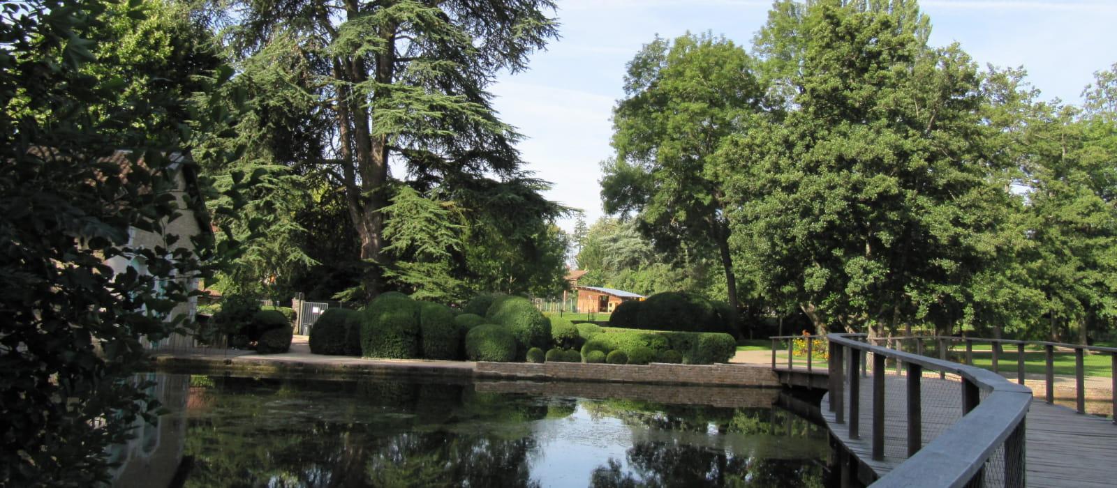 Passerelle Parc de la Bouzaize