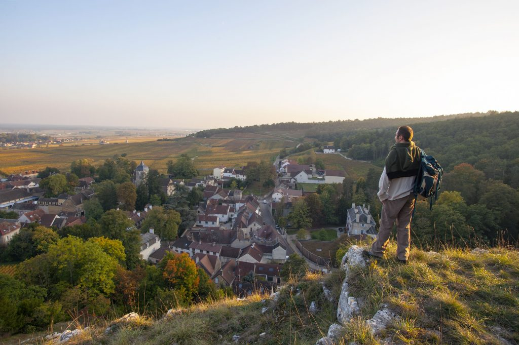 Randonnée à Chambolle-Musigny