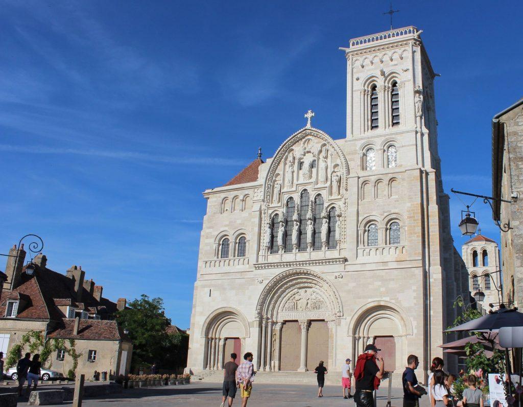 Façade de la Basilique de Vézelay