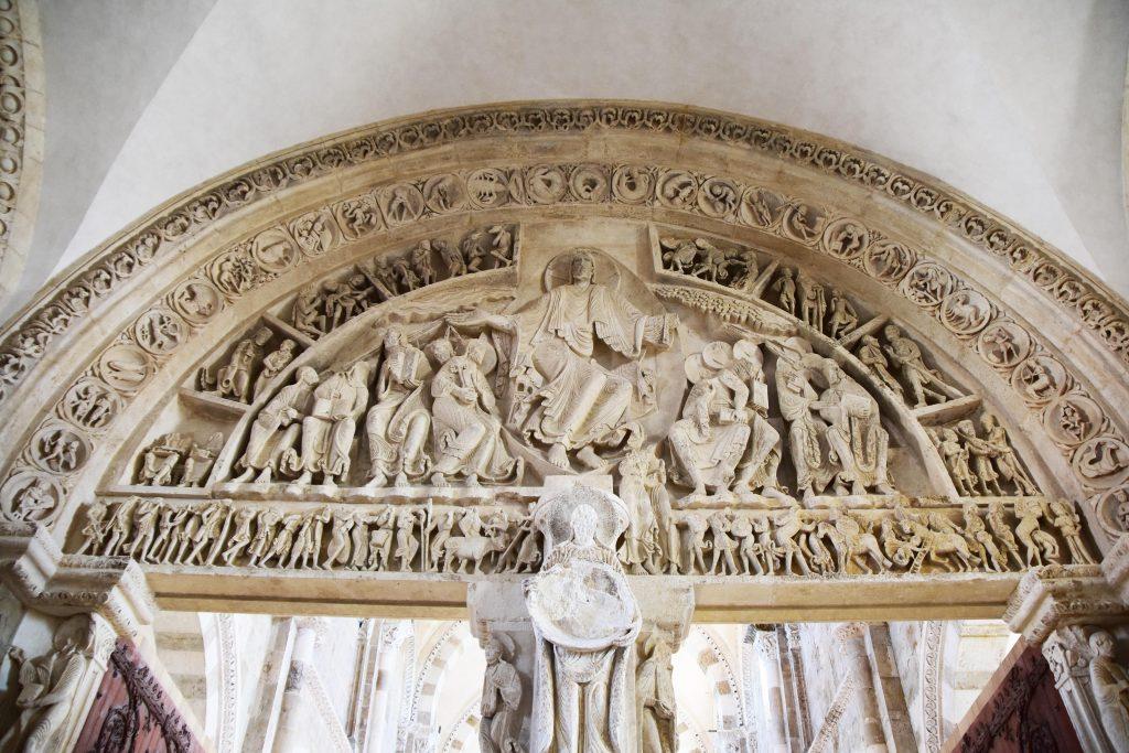 Tympan de la Basilique de Vézelay