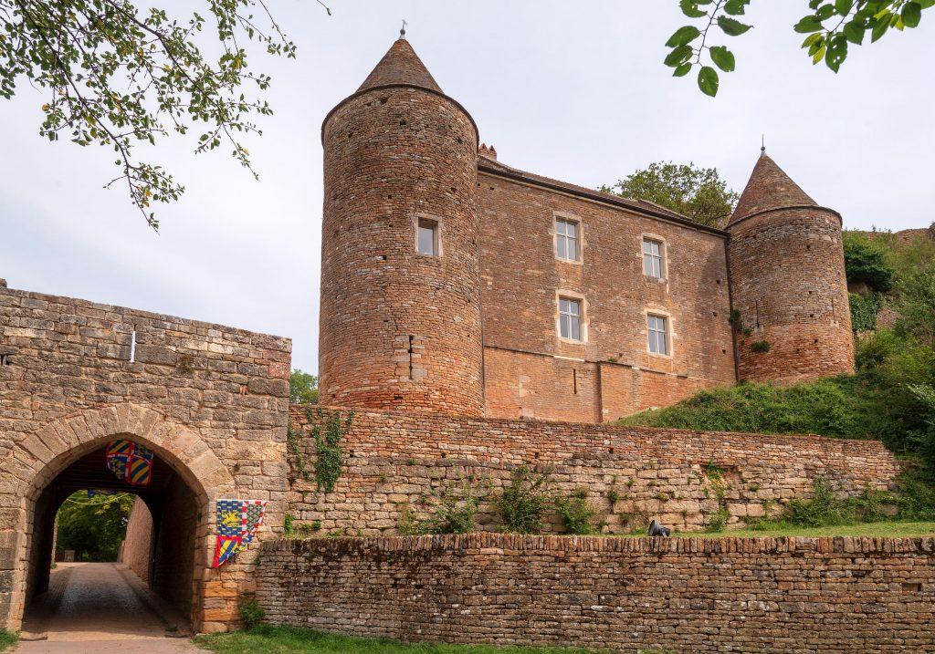 Le Château de Beaufort à Brancion