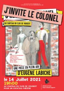 Clos Vougeot - J'invite le colonel