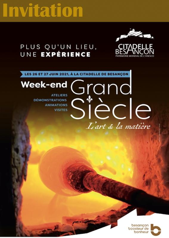 Weekend Grand Siècle Citadelle de Besançon
