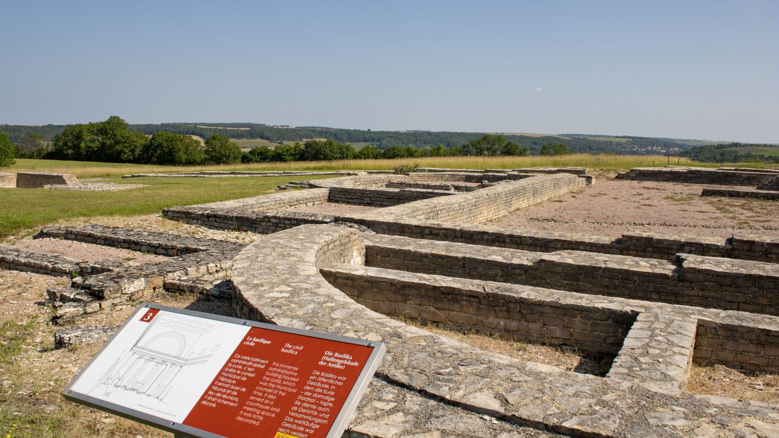 MuséoParc Alésia : les vestiges gallo-romains