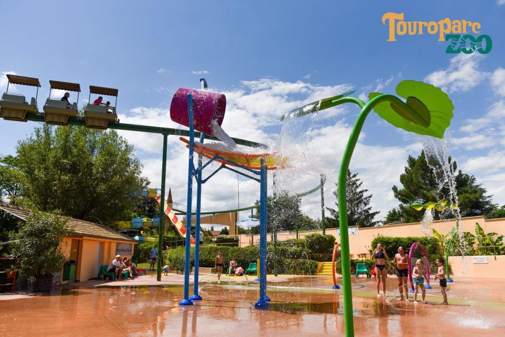 Parc aquatique au Touroparc